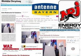 PR Für Grabstein-Firma