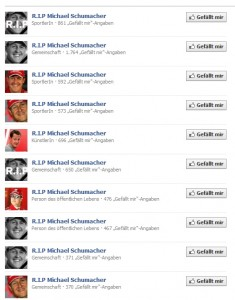Screenshot Facebook 31.12.2013