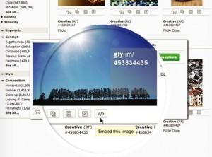 Screenshot:gettyimages.de