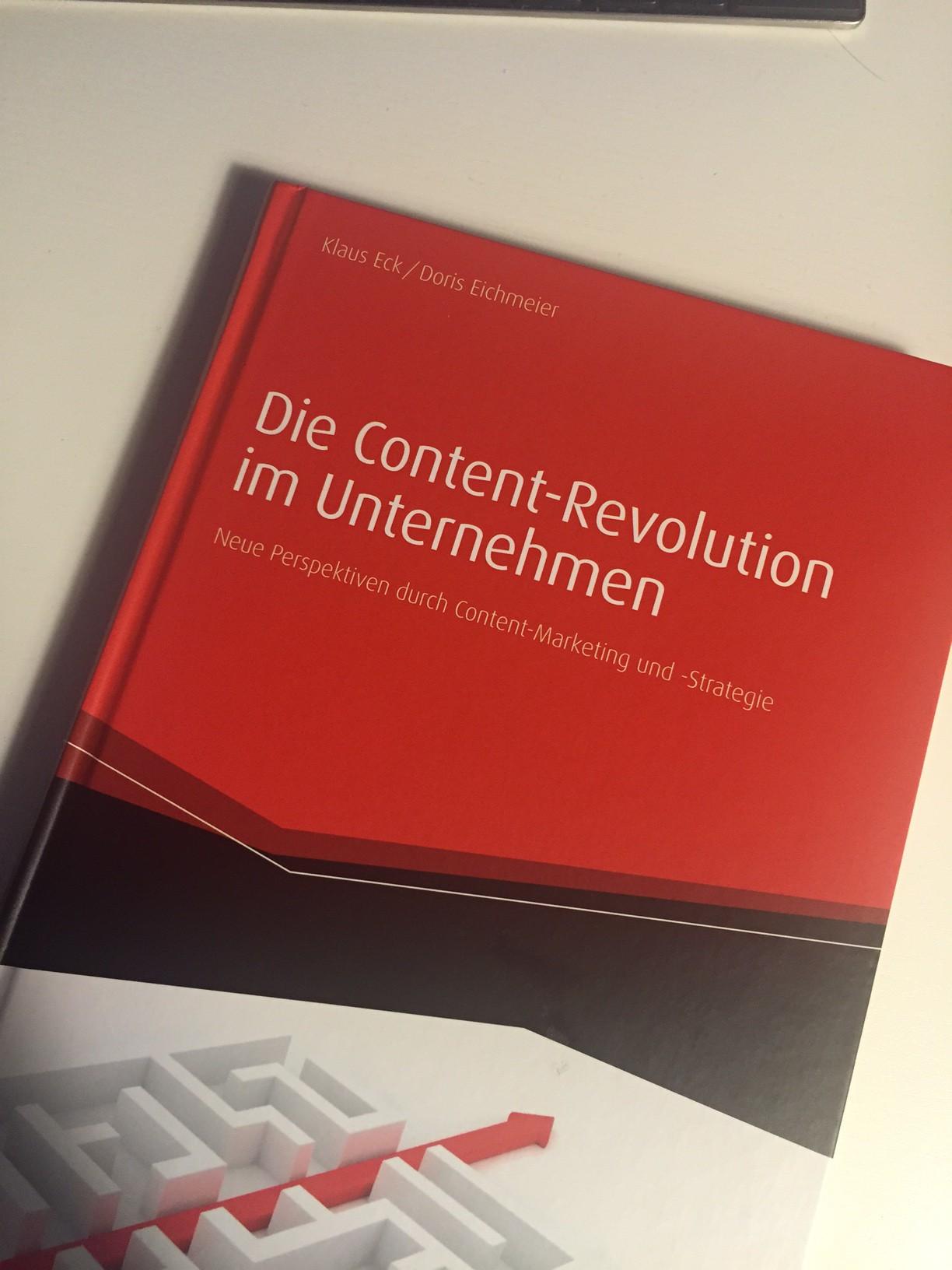 Reingelesen: Die Content-Revolution im Unternehmen - PRonline.de - Online PR, Social Media und Kommunikation