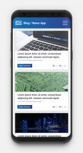 Beispiel einer News-App