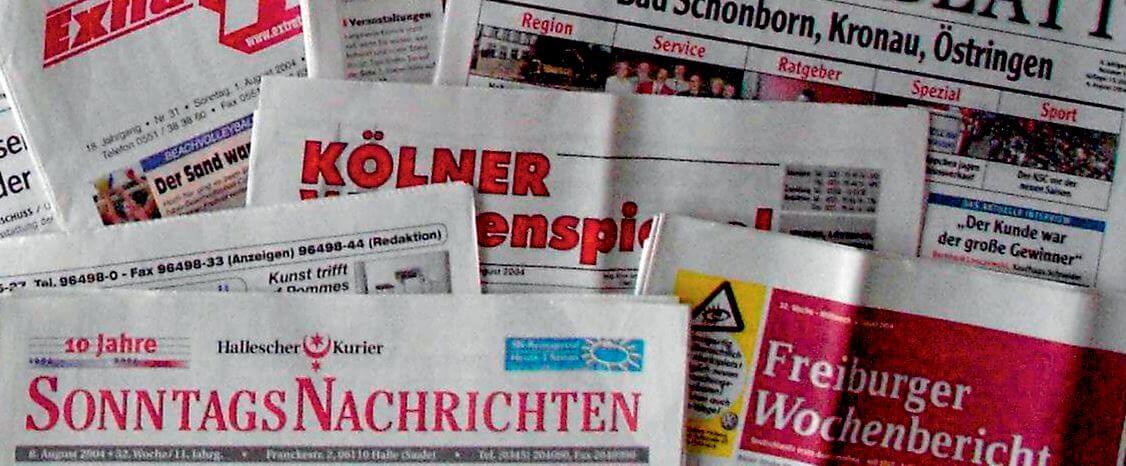 Anzeigenblätter Deutschland